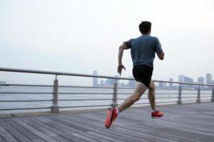 Pria Ketika Berolahraga Lari