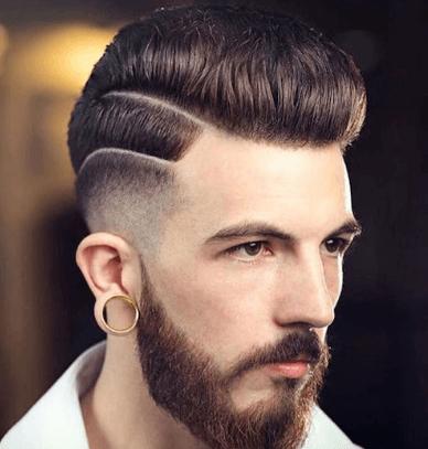 gaya rambut pompadour
